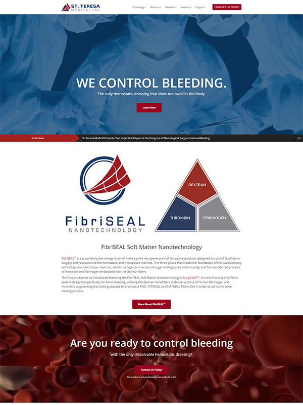 Control Bleeding website